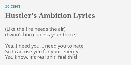 ambition-hustler-lyric