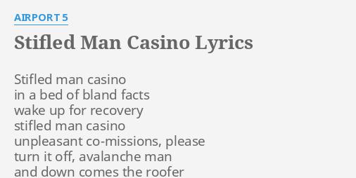 Stifled man casino oasis gambling auckland