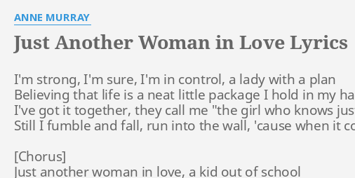 Another Woman In Love