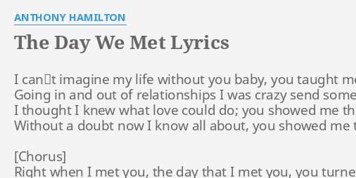 Anthony hamilton do you feel me lyrics