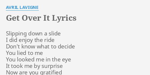 get over me lyrics