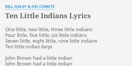 john brown had a little indian