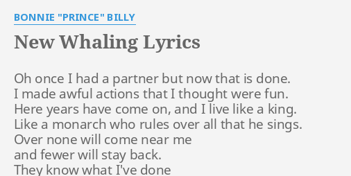 New partner lyrics