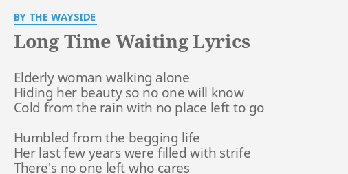 Elderly woman lyrics