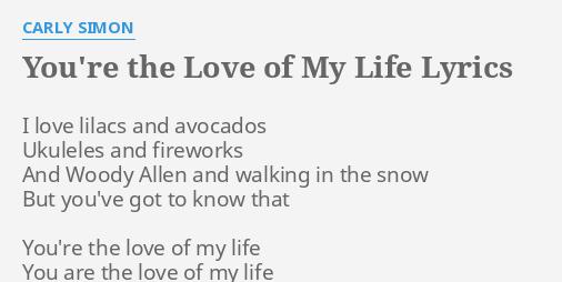 My your love lyrics is life ABBA