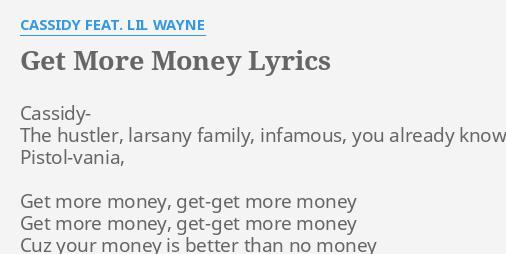 Imma hustler cassidy lyrics