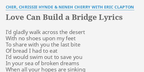 Neneh cherry love can build a bridge