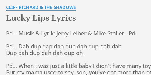 lucky lips lyrics hindi