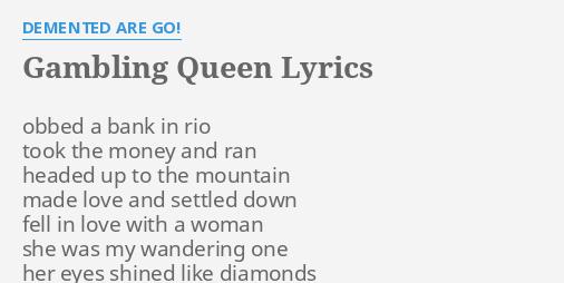 Gambling woman would say lyrics little river manistee casino