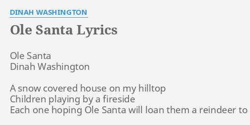 Washington Song Lyrics