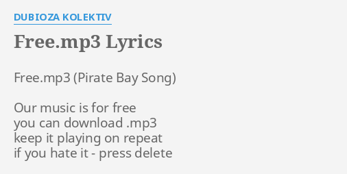 pirate bay mp3 songs