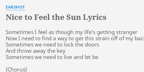 Earshot wait lyrics