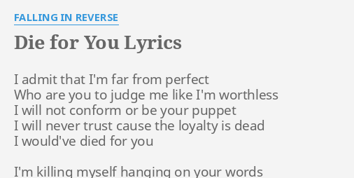 popular monster falling in reverse lyrics