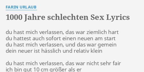 10 sex jahren mit Erster mit