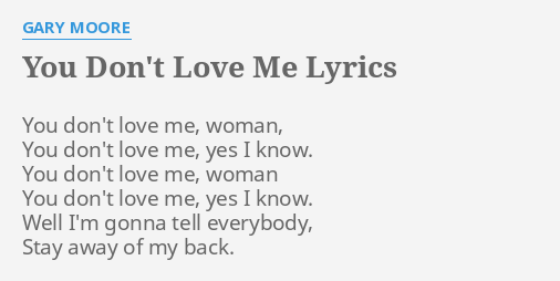 fall in love with me lyrics