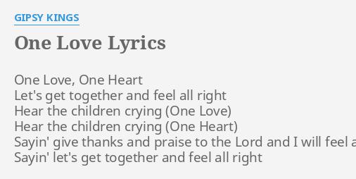 Gipsy kings bamboleo lyrics