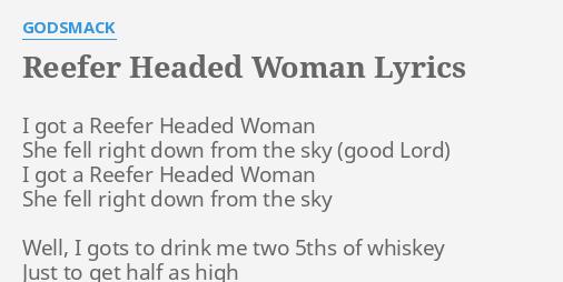 godsmack reefer headed woman