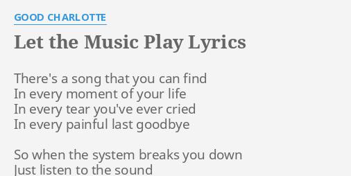 Faaqidaad : Let the music play song lyrics