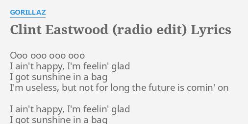 lyrics to clint eastwood