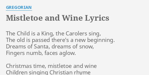 christmas songs with mistletoe in the lyrics