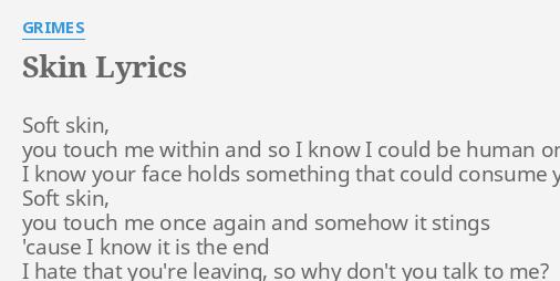 soft skin lyrics