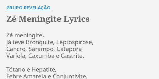 musica ze meningite