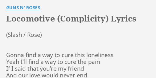 LOCOMOTIVE (COMPLICITY)