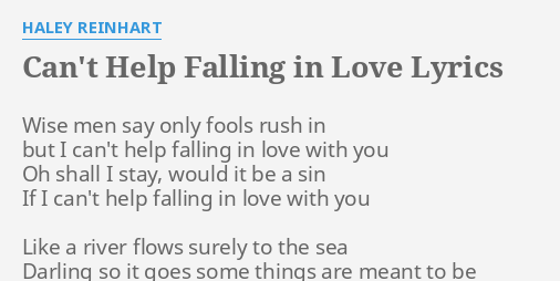 in love with you lyrics