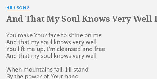 It Is Well With My Soul Hillsong Lyrics And Chords -|- abroad center