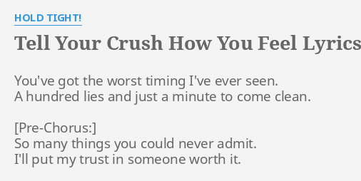things you should know about your crush