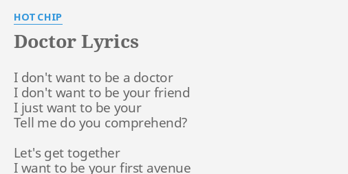 I don t want to be your friend lyrics
