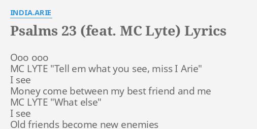 PSALMS 23 (FEAT  MC LYTE)