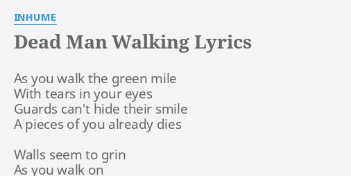 green mile dead man walking