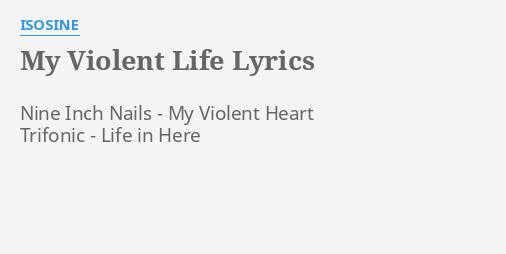 blonde-redhead-violent-life-lyrics