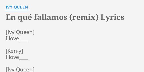 en que fallamos remix