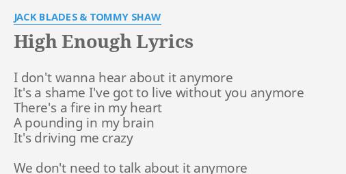 I don t want to live without you lyrics
