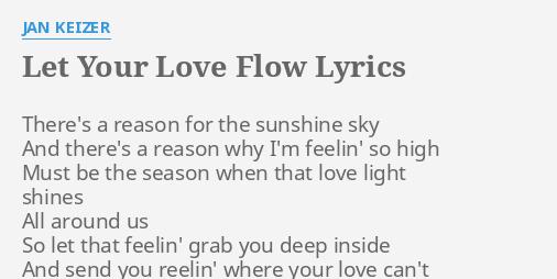 Let your love show lyrics