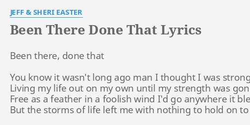 lyrics to hear my heart by sheri easter
