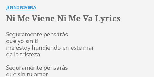 cuando me acuerdo de ti jenni rivera lyrics