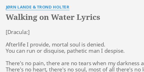 jorn lande dracula walking on water
