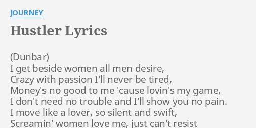 Lyrics hustler believe to her, milf pussy movie