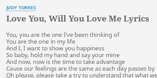 baby i love you you are my life lyrics