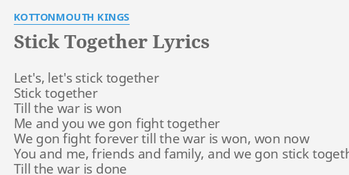 Family can be together forever lyrics
