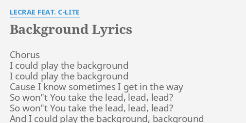 Unduh 820+ Background Lecrae Lyrics HD Terbaru