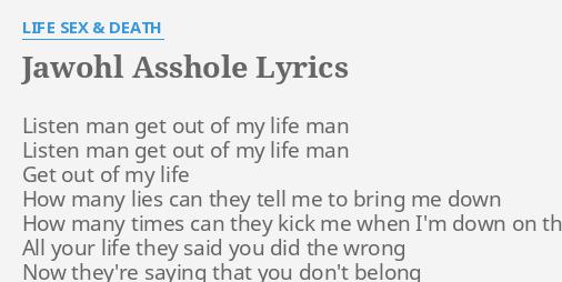 Life sex and death lyrics