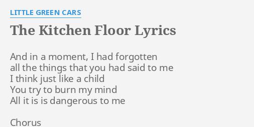 THE KITCHEN FLOOR\