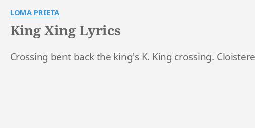 KING XING\