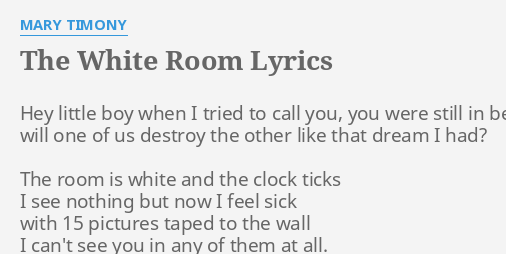 THE WHITE ROOM\