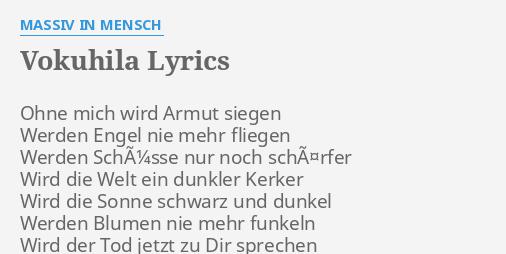 und ich fliege fliege fliege im sauseschritt lyrics