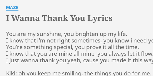 You re the sunshine of my life lyrics